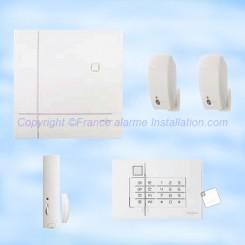 SH902AF kit alarme Daitem avec détecteur image
