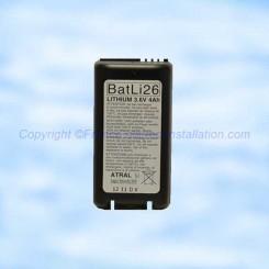 Batli26 pile Lithium Daitem 3,6 v 4Ah