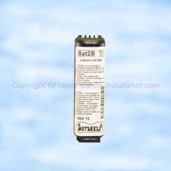 Batterie Batli28 compatible alarme Daitem Logisty Hager