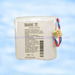Batterie Batli06 compatible alarme Daitem Logisty Hager
