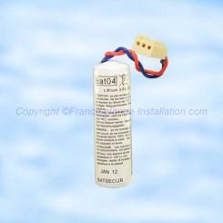 Batterie Batli04 compatible alarme Daitem Logisty Hager