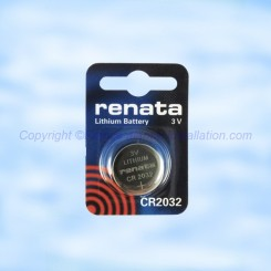 Pile Adetec CR2032 pour télécommande Adetec