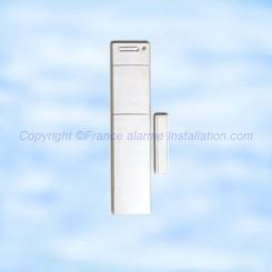 Détecteur d/'ouverture Blanc LOGISTY L3201F