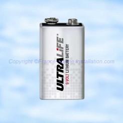 Pile Lithium CR9/P 9 Volts 1200mAh