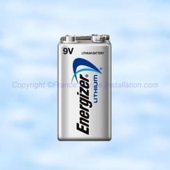 Pile Lithium Energizer 9 Volts Energizer