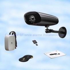 Caméra de vidéosurveillance IP 700e d'extérieur à vision nocturne 961-000342