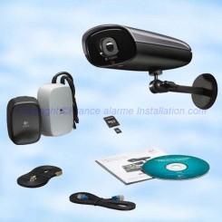 Système de vidéosurveillance IP 750e d'extérieur 961-000341