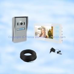 Interphone vidéo 2 fils SEDEA IV100