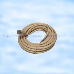 830-99X câble Rj45/Rj45 reseau Daitem 5 mètres