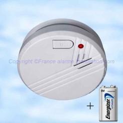 Détecteur de fumée DAAF FA23 Flamingo pile lithium