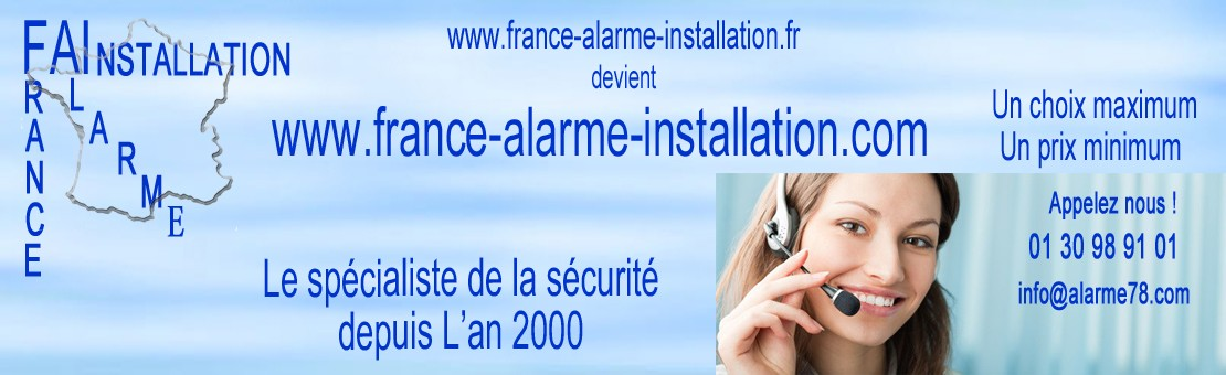 France alarme installation